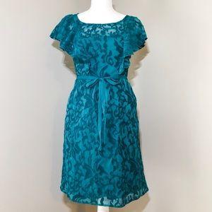 Anthro Moulinette Soeurs Emerald Green Dress 4